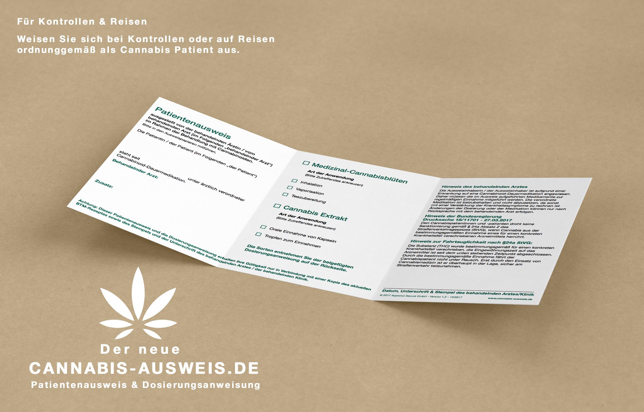 Cannabis Ausweis bestellen