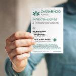 1x Cannabis Ausweis personalisiert (individuell bedruckt)