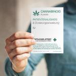 1x Cannabis Ausweis (BLANKO - zum selbst ausfüllen)